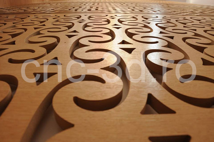 Prelucrare prin decupare cnc panouri decorative mdf for Decorative mdf